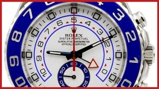 ▶ Rolex Yacht-Master II REVIEW & How to use the Regatta Timer | 44mm, Blue Ceramic Bezel, 116680