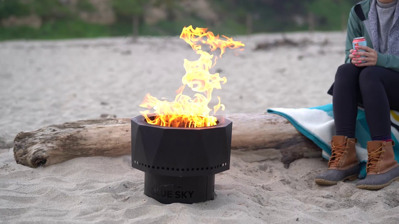 High Efficiency Portable Fire Pits From Blue Sky Outdoor Living Youtube