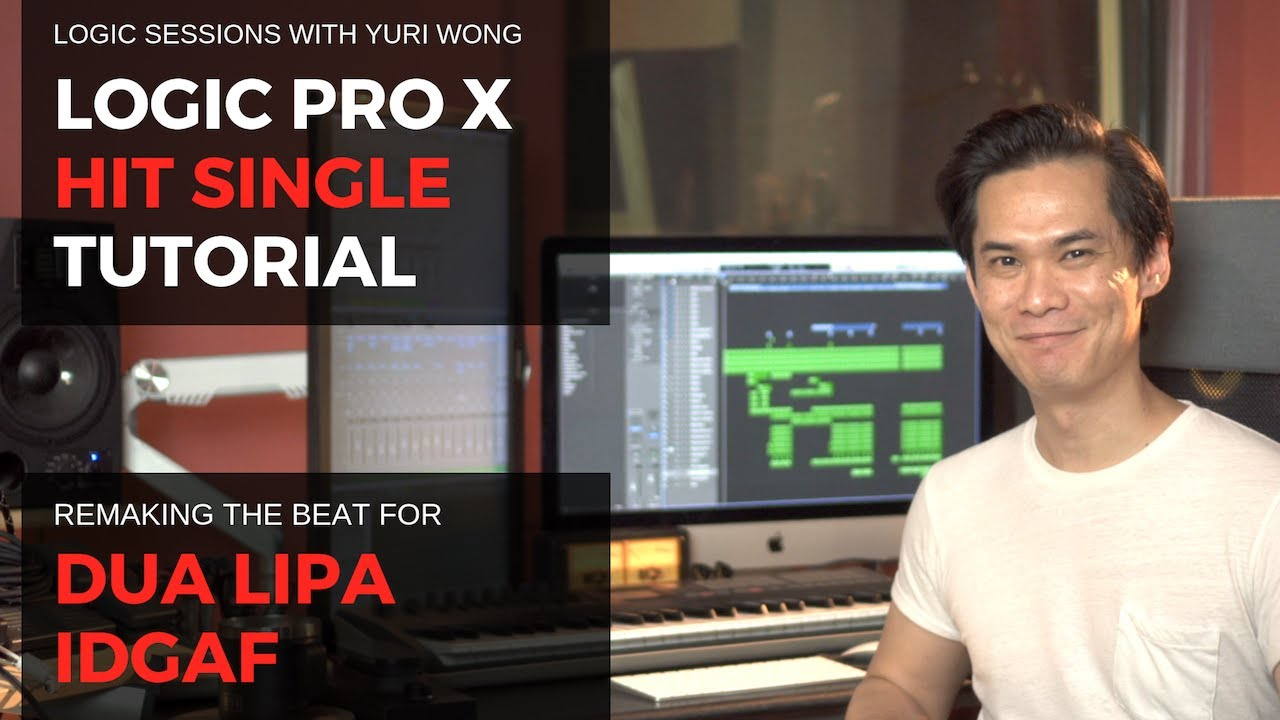 Download Logic Pro Remake: IDGAF by Dua Lipa [Tutorial with Standard Logic Instruments]