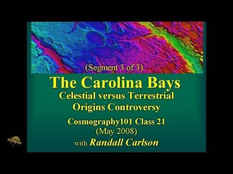 Carolina Bays' Research - Historical Review (pt 3/3) w/ Randall Carlson May 2008 Cosmography101-21.3