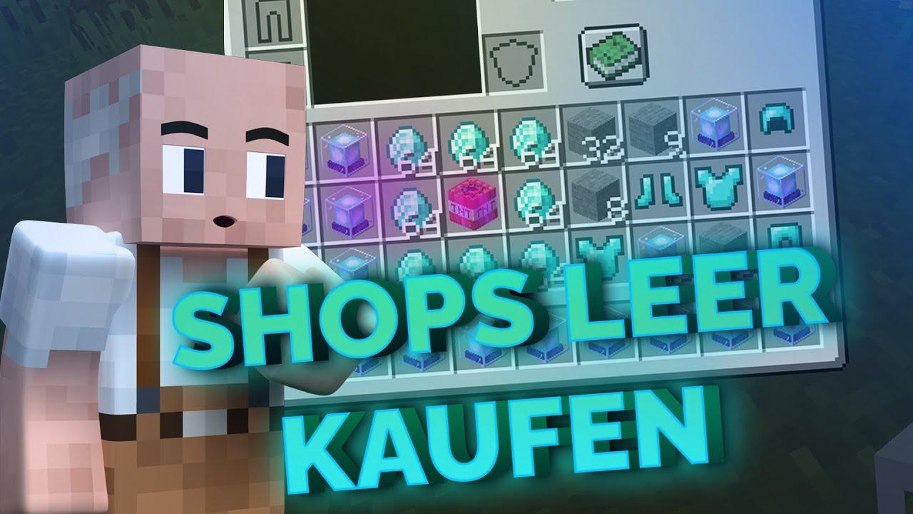 PE Shops leerkaufen Horst kauft eure Shops leer