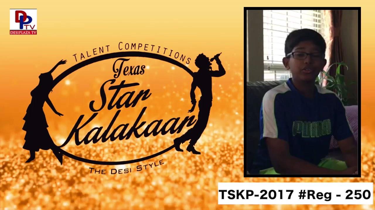 Reg# TSK2017P250- Texas Star Kalakaar 2017
