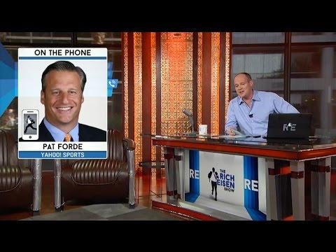 Pat Forde of Yahoo Sports Talks NCAA Head Coaches Nick Saban & Jim Harbaugh - 7/16/15