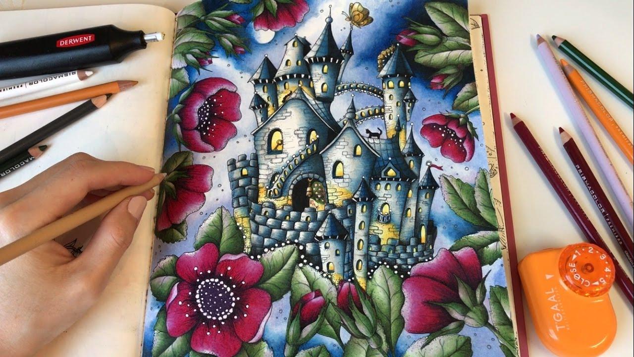 Midnight Carovne Lahodnosti Magical Delights Coloring