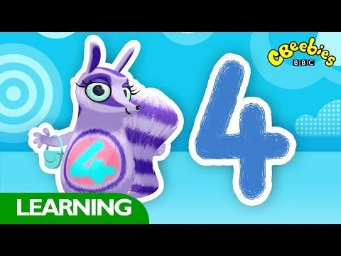 CBeebies: Numtums - Number 4 Song