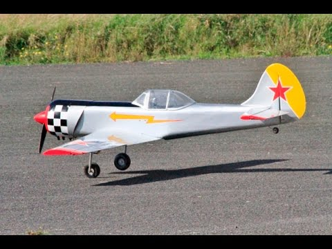 TWO RC YAKOVLEV YAK 50`S MEMORIAL DISPLAY - KEN BONES & CHRIS WILLIS AT RAF TIBENHAM FLY-IN - 2015