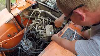 Changing The Operating Pattern On The Hitachi Excavator