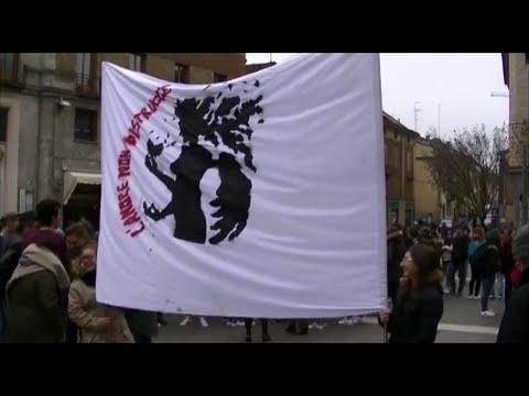 8 Marzo 2016  L' amore non distrugge Flash Mob della Scuola Anguissola di Cremona