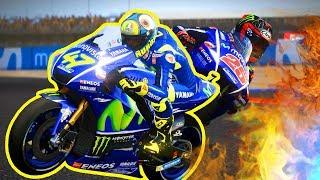 FINALE MOTOGP - Rossi Vinales e la STORIA!