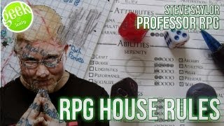 My Top 5 House Rules for Roleplaying Games - Geek and Sundry Vlogs Submission Video