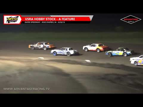 Hobby Stock Feature - Rapid Speedway - 6/28/19
