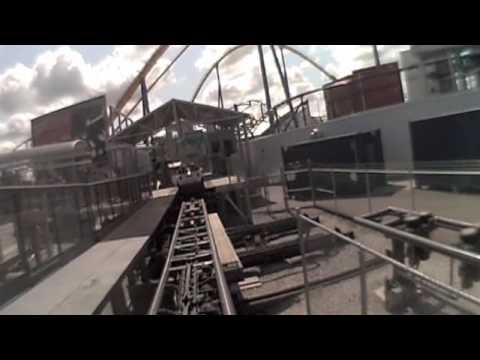 Backlot Stunt Coaster (just POV) Canada's Wonderland