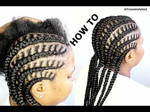 How To Do Simple Cornrow Braids
