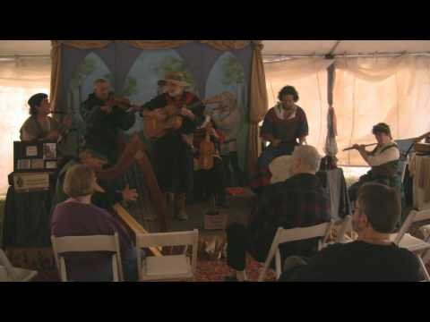 "The Minstrel's Corner ~ ""We Be Soldiers Three"" ~ Owain Phyfe, Charry Garcia, & Friends ~FlaRF 2010"