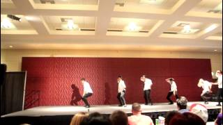 Xi Town Rumble: Round VI: Kappa Pi Beta Fraternity, Inc. - Beta Chapter @ UIC (FULL PERFORMANCE)
