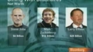 Obama Dines With Jobs, Zuckerberg With Economy on Menu
