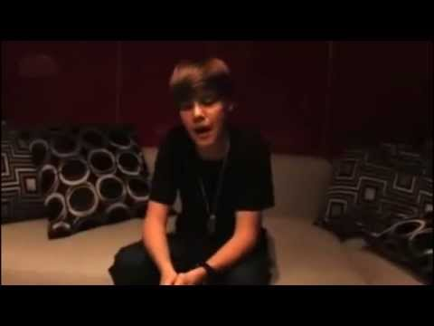 Justin Bieber Says Thank You To His Fans - 2010 | Rare video
