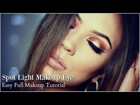 Makeup Tutorial | Warm Smokey Spotlight Eye Makeup