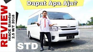 Explorasi Toyota HIACE Standar Tipe Terendah Toyota Indonesia