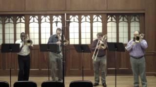 Flor Peeters - Suite: Quatuor pour 4 trombones, Op. 82: Mvt III