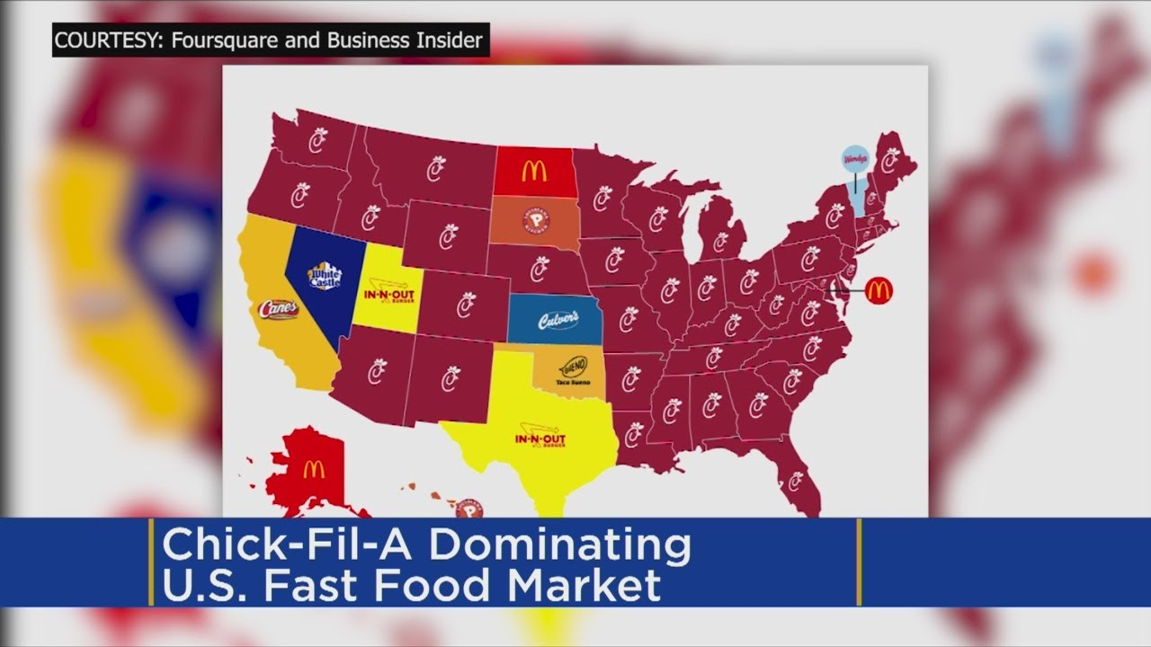 ChickFilA Dominating Minn US Fast Food Market YouTube