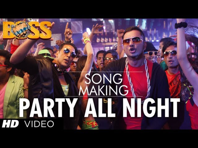 Party All Night Ft. Honey Singh Boss Song Making | Akshay Kumar, Sonakshi Sinha Travel Video