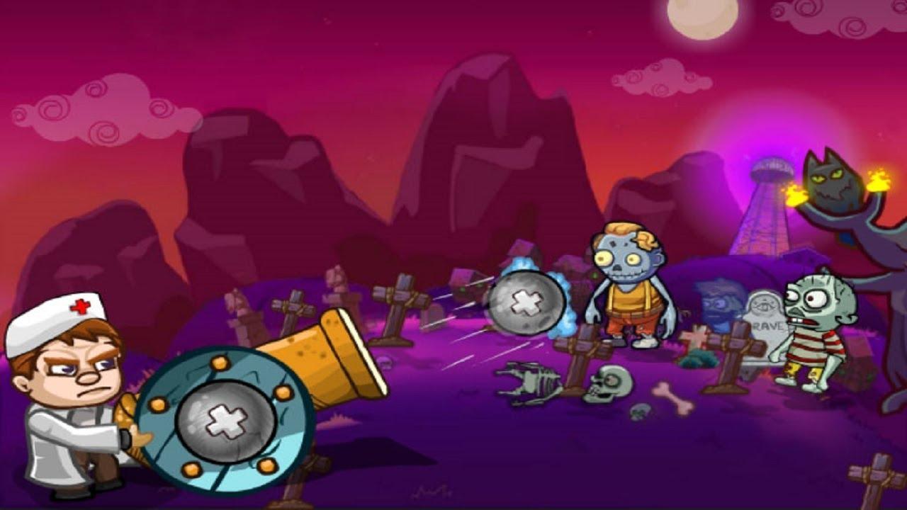 Лечим Зомби в игре Zombies Regimen Walkthrough
