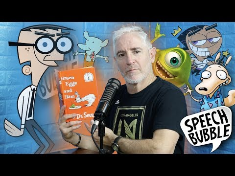 Carlos Alazraqui Reads Dr. Seuss Books in Cartoon Voices Fairly OddParents, Rocko's Modern Life