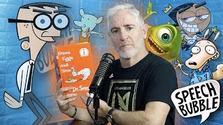 Carlos Alazraqui Reads Dr. Seuss Books in Cartoon Voices (Fairly OddParents, Rocko's Modern Life)