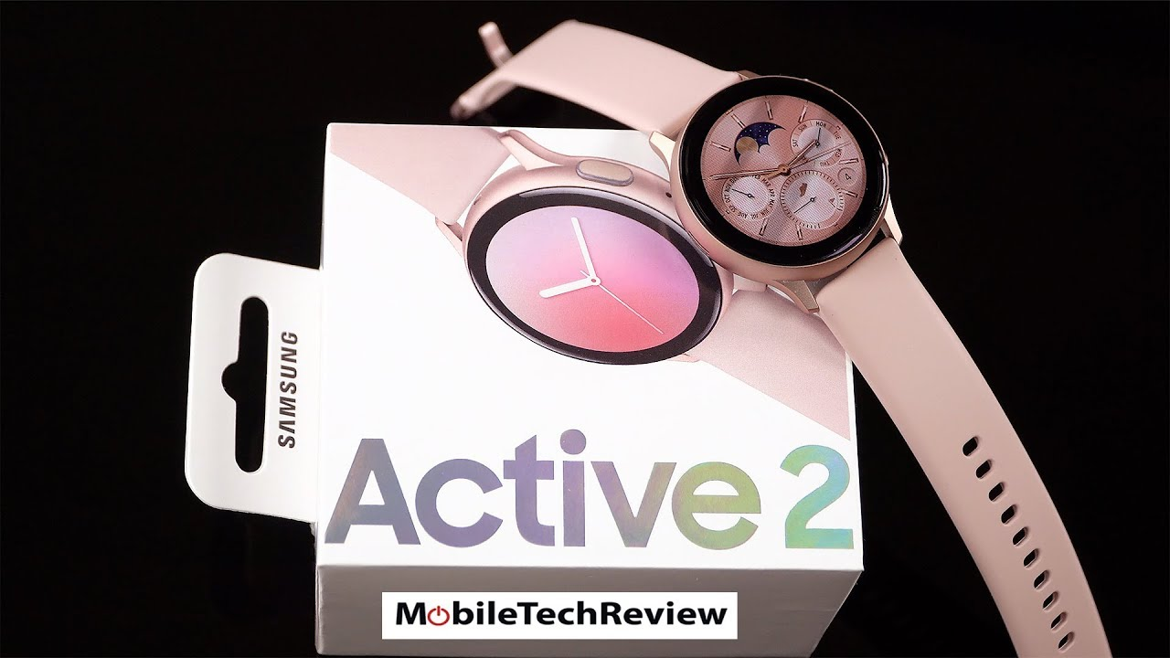 Samsung Galaxy Watch Active 2 Review Youtube