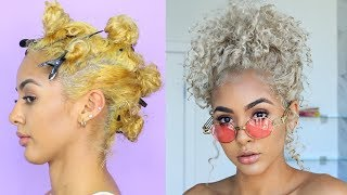 How to Tone Hair | Brassy to Ash Blonde Wella Toner