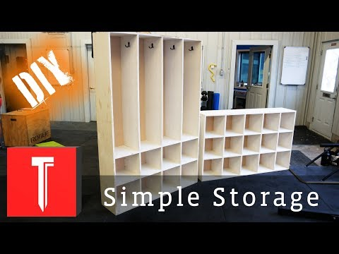 Simple DIY Storage! | Easy Cubbies