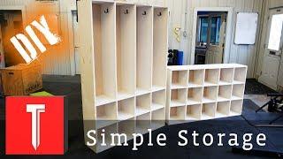 Simple DIY Storage! | Easy Cubbies