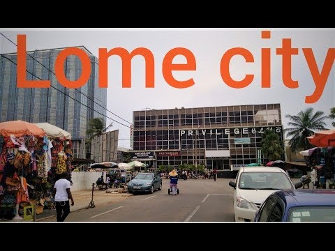 LOME CITY II Republique de Togo II West African  II
