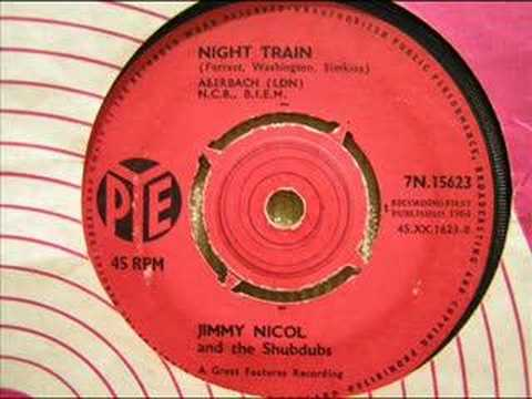 night train  jimmy nicol and the shubdubs