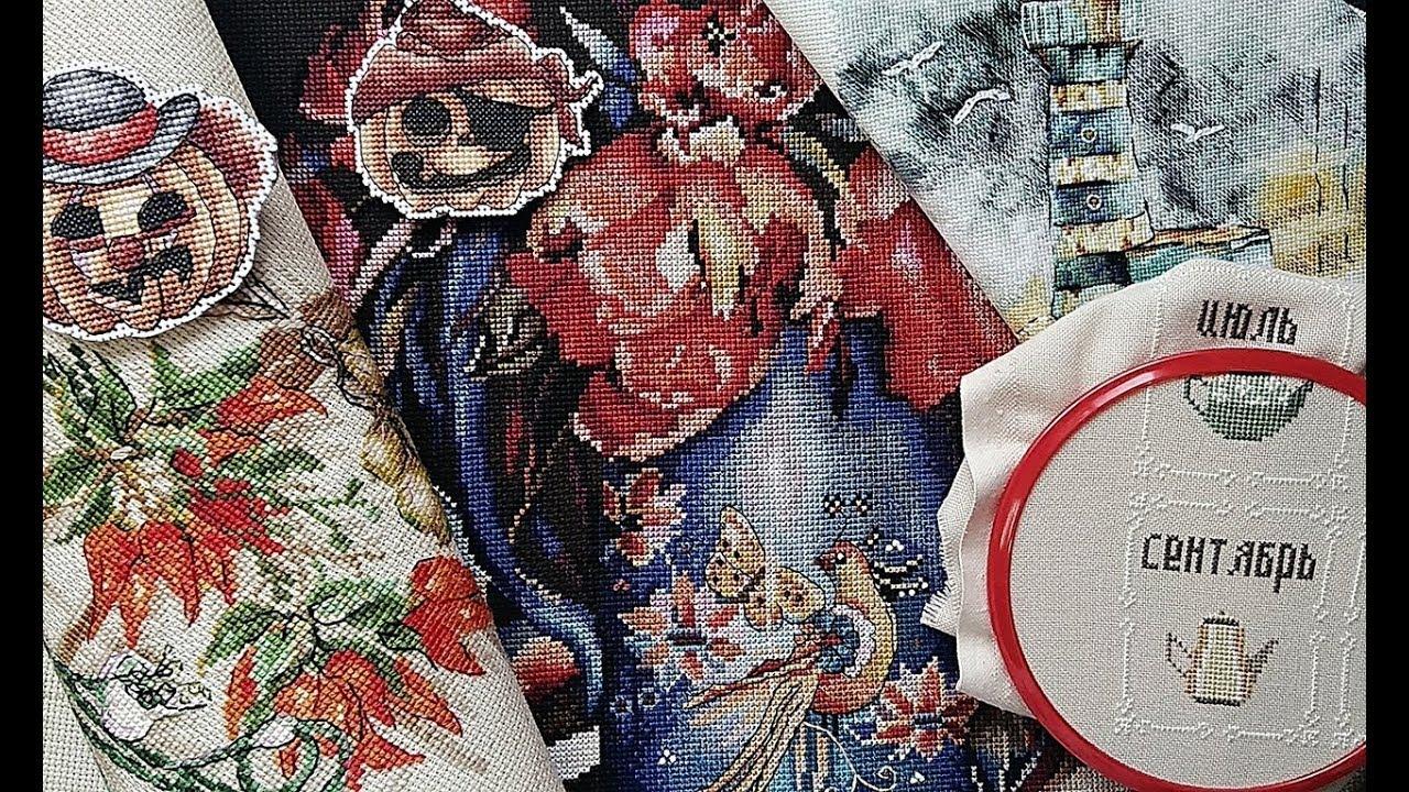 СЕНТЯБРЬ  2019/ Итоги месяца / 5 ФИНИШЕЙ / Процессы  / Вышивка крестом/ #вышивка