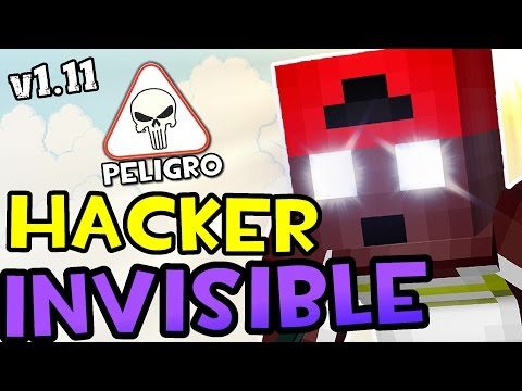EL HACKER INVISIBLE EN MINECRAFT 1.11 | Un Hacker En Minecraft 2