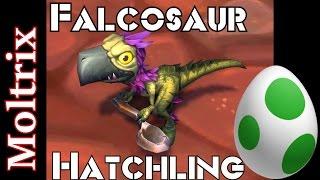 Legion Falcosaur Hatchling Guide Orphaned Sharptalon