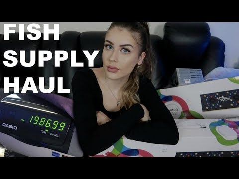 AQUARIUM SUPPLY HAUL | What I Buy For Reef Tanks