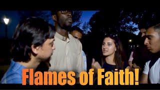 Flames of Faith! Mansur Vs Passionate Woman | Old is Gold | Speakers Corner | Hyde Park