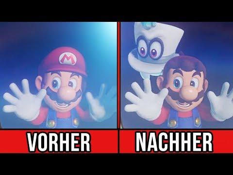 Mario ODYSSEY so GROß wie Zelda BREATH OF THE WILD?