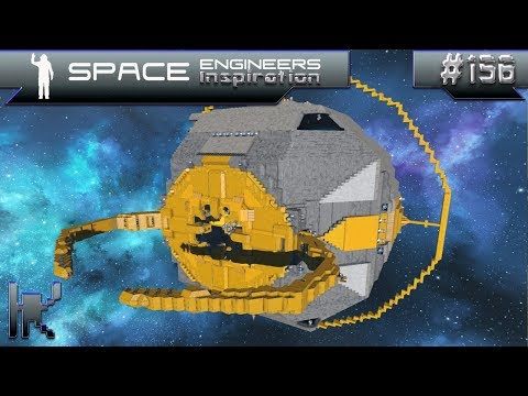 Space Engineers Inspiration - Episode 156: Calypso Yacht, Koschei Destroyer, & UNICRON