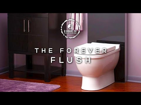 TOILET FLUSH SOUND EFFECT, TOILET SOUND, 8 Hours of Toilet ASMR, Toilet Flushing Noise, Water Flush