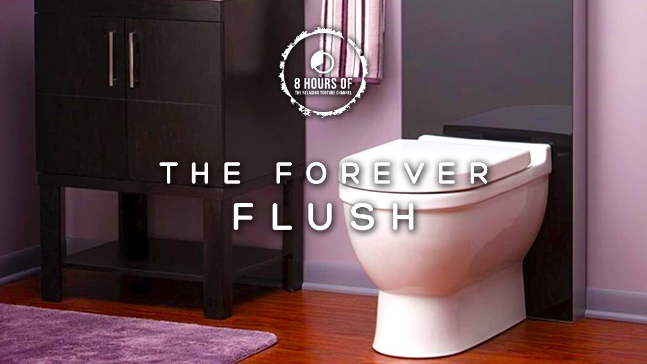 toilet flush sound effect toilet sound 8 hours of toilet asmr toilet flushing noise water