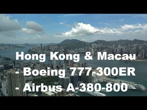 My trip to Hong Kong with Emirates Boeing 777 and Airbus A380