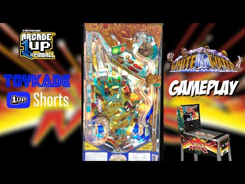 Arcade1Up Attack From Mars Gameplay - White Water #Shorts from ToyKade