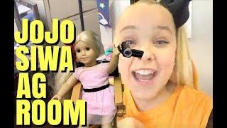 JoJo Siwa American Girl Doll Room