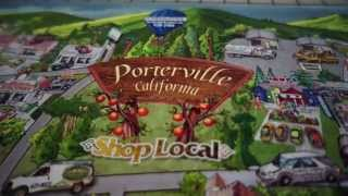 City of Porterville California Drawing Illustration Superprint Lithographics