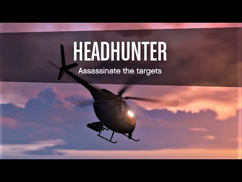 E226 The Advanced Headhunter Guide For All, For Great GTA Cash! - Let's Play GTA 5 Online PC 60fps