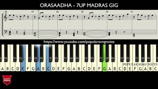 Orasaadha 7UP MADRAS GIG HOW TO PLAY MUSIC NOTES.mp3
